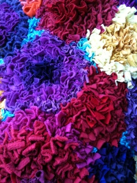 Rag rug by Dianne Brown